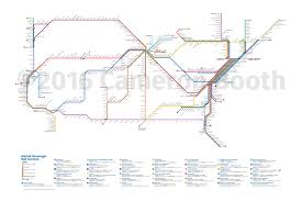 Manhatten Subway Map by 2016 Amtrak Subway Map U2013 Large Cameron Booth