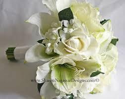 Silk Amaryllis Flowers - silk amaryllis flowers etsy