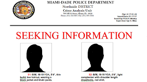 Seeking Miami 2 Suspects Sought In Shooting At Mlk Memorial Park Miami Dade
