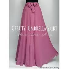 rok panjang muslim rok panjang muslimah cerutti umbrella skirt 081372507000 griya