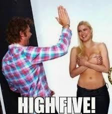 High Five Meme - high five meme