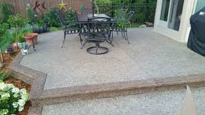 Average Price For Stamped Concrete Patio by Concrete Patios Concrete Contractors Potoroka Concrete Co In