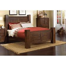 Pine King Headboard by Dark Pine 6 Piece King Bedroom Set Trestlewood Rc Willey