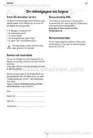 husqvarna qn4052 manual svenska page 23