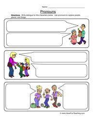 best 25 pronoun worksheets ideas on pinterest pronoun