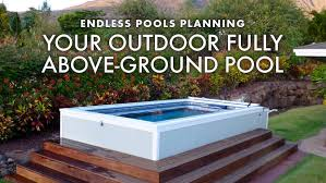 endless lap pool deck swimming pools above or in ground lap pools