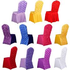 Spandex Banquet Chair Covers Aliexpress Com Buy New Spandex Stretch Dining Chair Cover Hotel