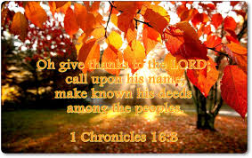 oh give thanks to the lord call upon his name make known his