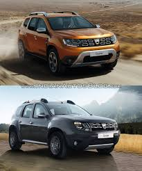 duster dacia 2018 dacia duster vs 2014 dacia duster front three quarters right