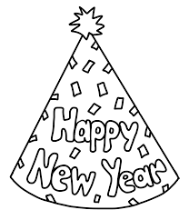 birthday party hat coloring pages omeletta