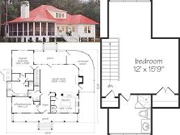 100 open floor plan cottage small cottage plan with walkout