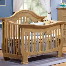 Lusso Century 2 Piece Nursery Set 4 In 1 Crib With Mini Rail And
