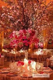 romantic wedding centerpieces with glamour modwedding