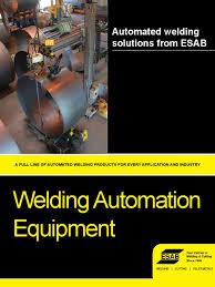 catalogue automation welding metal fabrication
