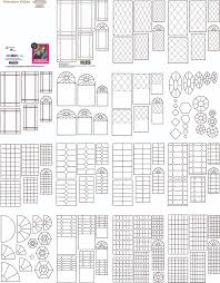 templates other misc dollhouse miniature madness and tutorials download pdf window grids