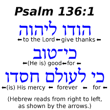 a good thanksgiving prayer o give thanks u201d a hebrew prayer lesson the hausvater project
