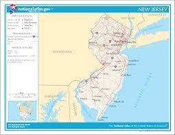 Map Of Jersey City Map Of New Jersey Street Map Weltkarte Com Karten Und