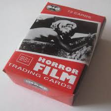 horror trading cards mint in package 72 cards ebay