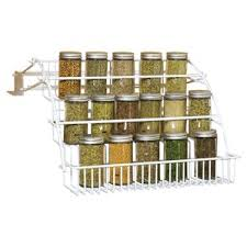 Flat Spice Rack Spice Jars U0026 Spice Racks