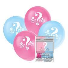gender reveal balloons gender reveal balloons uk baby shower co ltd
