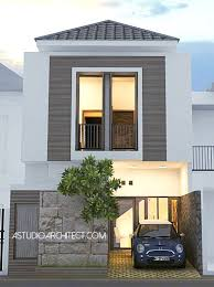 desain rumah lebar 6 meter desain rumah minimalis lebar 6m 2 lantai cibubur jpg 600 456
