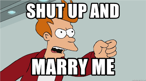 Take My Money Meme - shut up and marry me shut up and take my money gift card meme