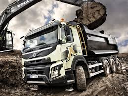 2013 volvo truck commercial 2013 volvo fmx 8x4 tridem tipper semi tractor dump construction