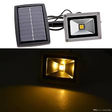 Landscape Flood Light by Solar Flood Lights Outdoor Landscape Lighting 10w Led Spotlight
