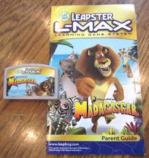 leapster leap frog l max madagascar game w booklet u2022 12 50 picclick