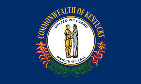 kentucky flag map state of kentucky flag clipart clipground