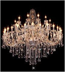 Large Glass Chandeliers Small Crystal Chandelier Lamp Fixture Different Color Options