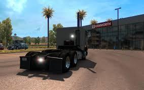kenworth cabover trucks freightliner flb interior v1 0 american truck simulator mods
