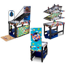hathaway matrix 54 7 in 1 multi game table reviews md sports 48 inch 12 in 1 combo multi game table games with air