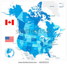 map us canada canada map stock images royalty free images vectors
