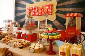 Circus Candy Buffet Ideas by Kara U0027s Party Ideas Vintage Circus Birthday Party Ideas Planning