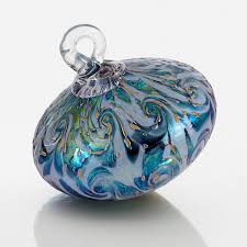 rococo by bryce dimitruk this luminous blown glass ornament