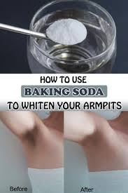 how to use baking soda to whiten your armpits wifemommywoman