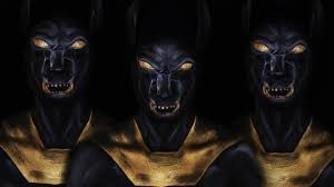 gods of egypt inspired makeup tutorial anubis youtube