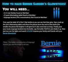 Memes 4chan - fact check bernie sanders glowstick instructions make bombs not