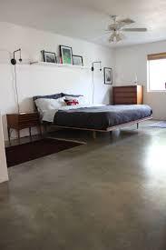Floating Bedframe by Bed Frames Mid Century Bed Frame Mid Century Modern Bedroom