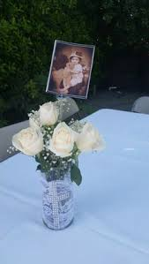 Centerpieces For Boy Baptism by This Little U0027s Family Celebration Of Her First Communion Was