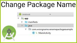 android package name how to change the package name in android studio wikitimes times