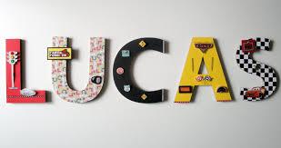 disney cars wall letters 8 3d custom wall letters