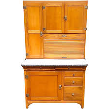 Hoosier Cabinets For Sale by Classic Early 20th Century Maple Hoosier Cabinet For Sale At 1stdibs