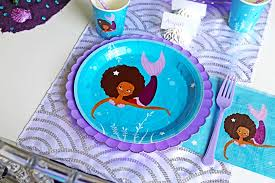 mermaid party supplies party supplies that celebrate children of color