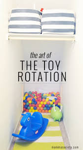 how to organize your toys using toy rotation organizing toy and