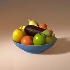 fruit basket fruit basket 2 3d model cgtrader