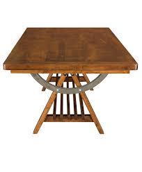 apgar village trestle table amish direct furniture