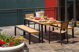 Tall Deck Chairs And Table by Mhc Outdoor Living