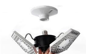 motion activated ceiling light 3000 lumens trilight motion activated ceiling light video geeky